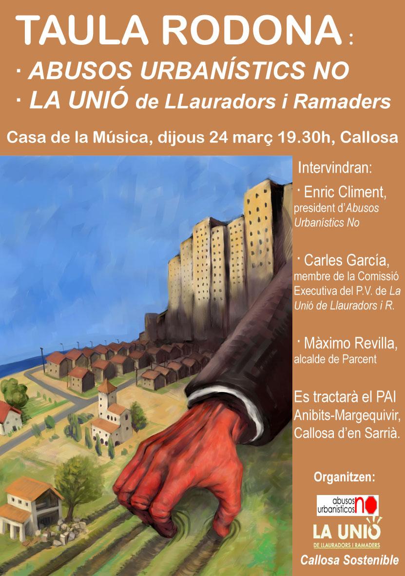 Dijous 24 de març, 19.30 h, Casa de Cultura, Callosa d'en Sarrià